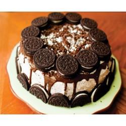 Photo Cake With Oreo