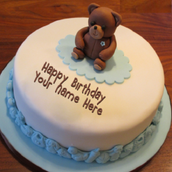 Teddy Bear Birthday (Fondant)
